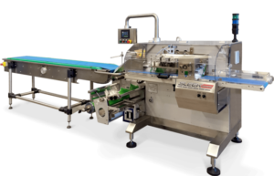 Flow Packaging - sleek machine