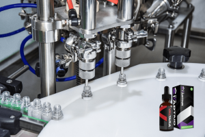 cod oil liquid filling machine