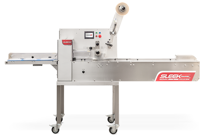 compact flow wrapping machine